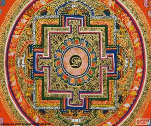 Układanka Mandala