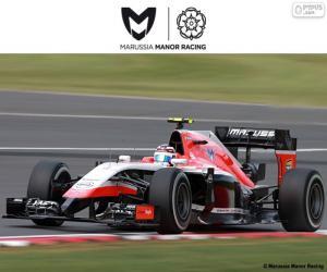 Układanka Manor Marussia 2015