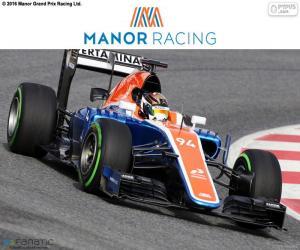 Układanka Manor Racing 2016