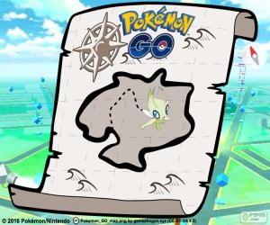 Układanka Mapa Pokémon GO