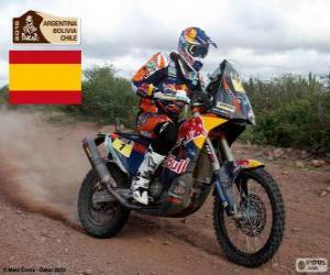 Układanka Marc Coma, Dakar 2015