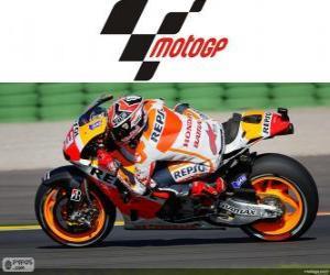 Układanka Marc Márquez, 2013 mistrz świata MotoGP