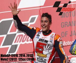 Układanka Marc Márquez, MotoGP-2016