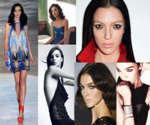 Układanka Mariacarla Boscono jest włoski model