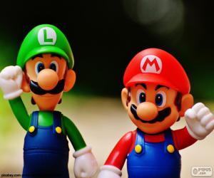 Układanka Mario i Luigi