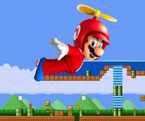 Układanka Mario loty z kadłuba, śmigło