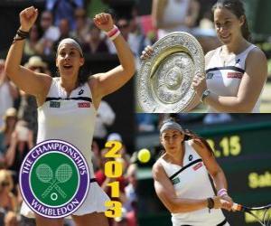Układanka Marion Bartoli mistrz Wimbledonu 2013