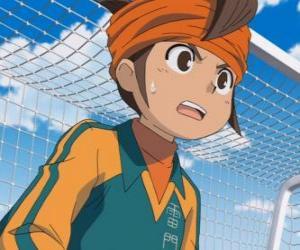 Układanka Mark Evans lub Mamoru Endo, bramkarz drużyny piłkarskiej Raimon Szkoły i głównym bohaterem serii Inazuma Eleven