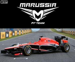 Układanka Marussia MR02 - 2013 -