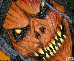 Układanka Maska diabła