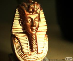 Układanka Maska faraona Tutanchamona