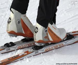 Układanka Materiał z narciarstwa biegowego