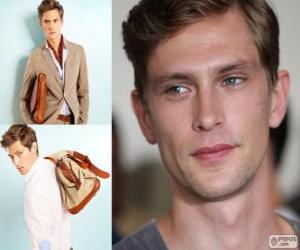Układanka Mathias Lauridsen jest duński model