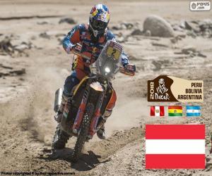 Układanka Matthias Walkner, Dakar 2018