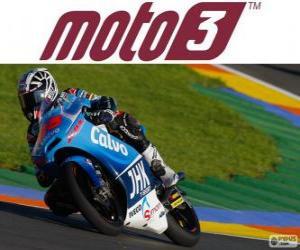 Układanka Maverick Viñales, mistrz świata 2013 Moto3