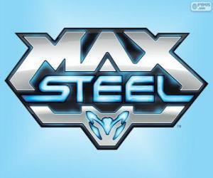 Układanka Max Steel logo