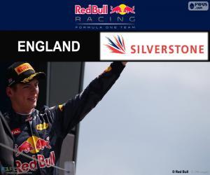 Układanka Max Verstappen, GP Wielkiej Brytanii 2016