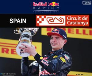Układanka Max Verstappen, Grand Prix Hiszpanii 2016