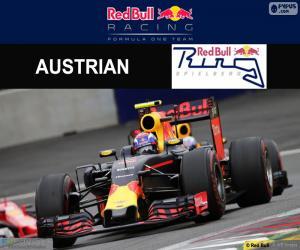 Układanka Max Verstappen Grand Prix Austrii 2016