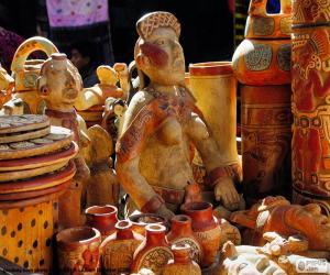 Układanka Maya ceramika