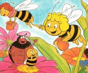 Układanka Maya poleciał wraz z nauczycielem Cassandra prowadzić każdy słoik miodu, a Wili pozdrowić swoich znajomych i Kurt