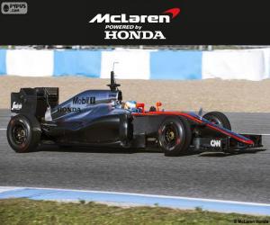 Układanka McLaren Honda 2015