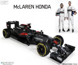 Układanka McLaren Honda 2016