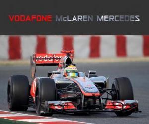 Układanka McLaren MP4-27 - 2012 -
