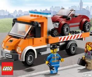Układanka Mechaniczne pomocy Lego City