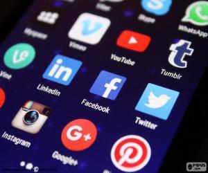 Układanka Media społecznościowe