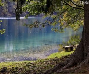 Układanka Medytacja nad jeziorem