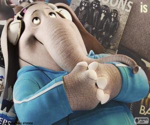 Układanka Meena słoń