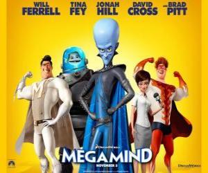 Układanka Megamocny głównych bohaterów