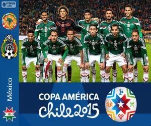 Układanka Meksyk Copa America 2015