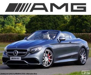 Układanka Mercedes-AMG S 63 Cabriolet