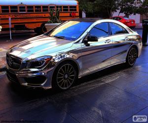 Układanka Mercedes chrome