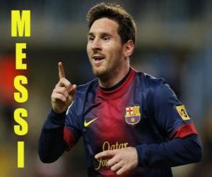 Układanka Messi
