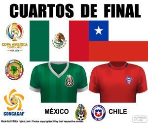 Układanka MEX - CHI, Copa America 2016