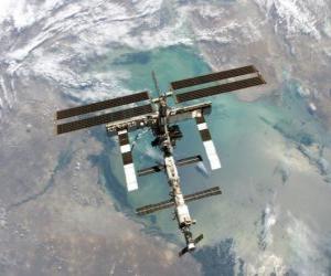 Układanka Międzynarodowa Stacja Kosmiczna (ISS)