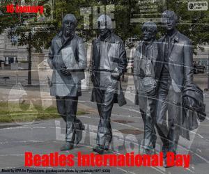 Układanka Międzynarodowy Dzień Beatlesów