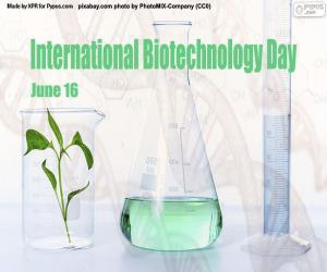 Układanka Międzynarodowy Dzień Biotechnologii