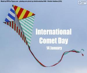 Układanka Międzynarodowy Dzień Komety