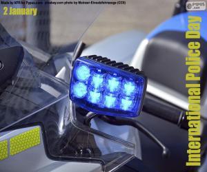 Układanka Międzynarodowy Dzień Policji
