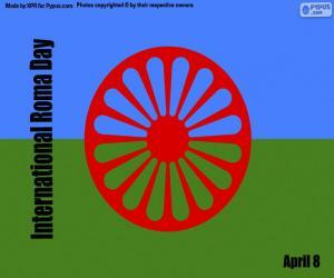 Układanka Międzynarodowy Dzień Romów