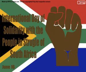 Układanka Międzynarodowy Dzień Solidarności z Narodem Walki RPA