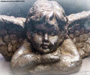 Układanka Miły Boże Narodzenie Anioł