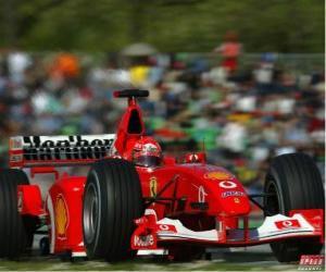 Układanka Michel Schumacher (Kaiser) jazdę na F1