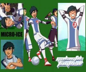 Układanka Micro-Ice jest joker zespołu Snow Kids, ma numer 3