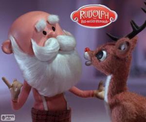 Układanka Mikołaja z Rudolf