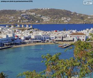 Układanka Mikonos, Grecja